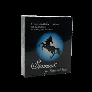 Stamina Condoms 3s