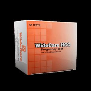 WideCare HCG Pregnancy Test Strip